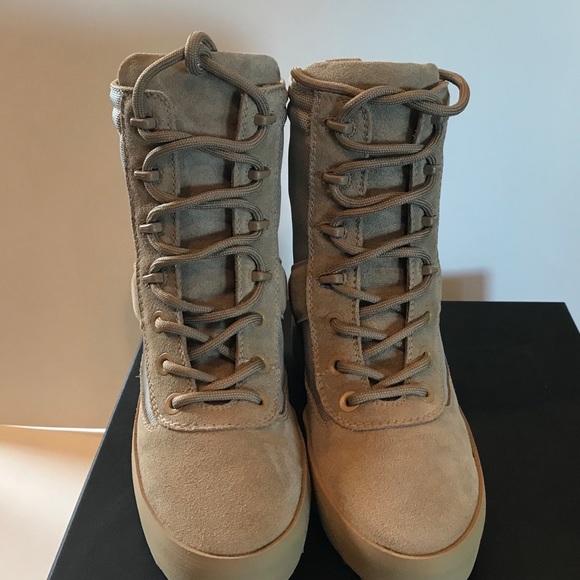 0c15f626be1f7 Yeezy Season 3 desert military boot NIB kw2581 022